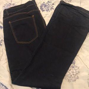 Forever 21 flared bottom jeans